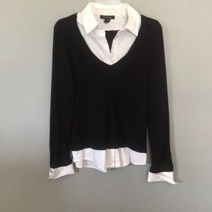 WHBM all in one sweater